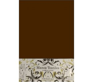 Mantel Ecocuero 1.80 X 1.40 Liso Chocolate