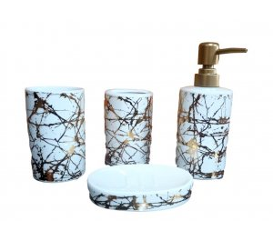 Set de baño x 4 pcs